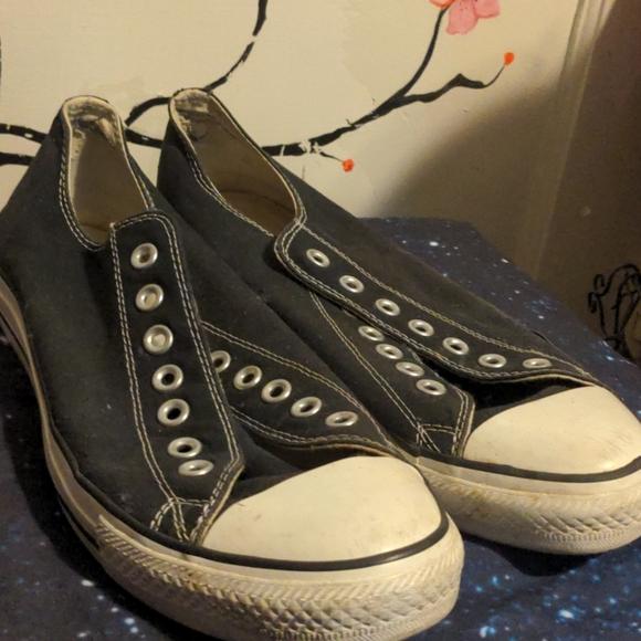 Men's OG black converse size 10 🖤